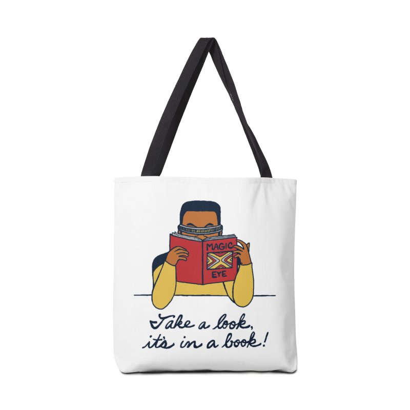 Take A Look Accessories Tote Bag Bag by laurastead's Artist Shop