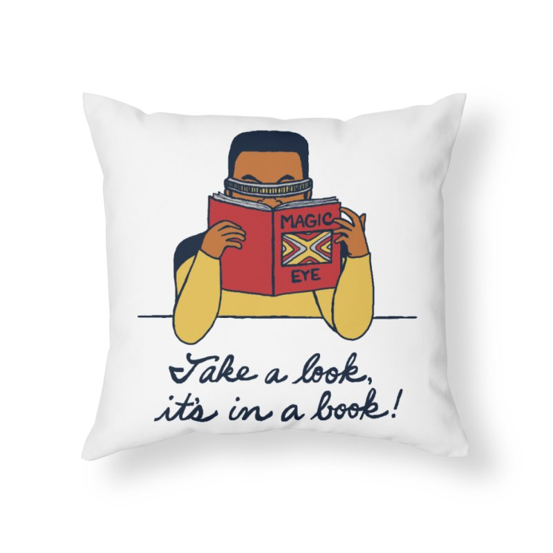 Take A Look Home Throw Pillow by laurastead's Artist Shop