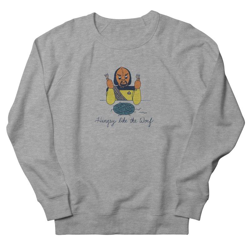Hungry Like The Worf Men's Sweatshirt by laurastead's Artist Shop