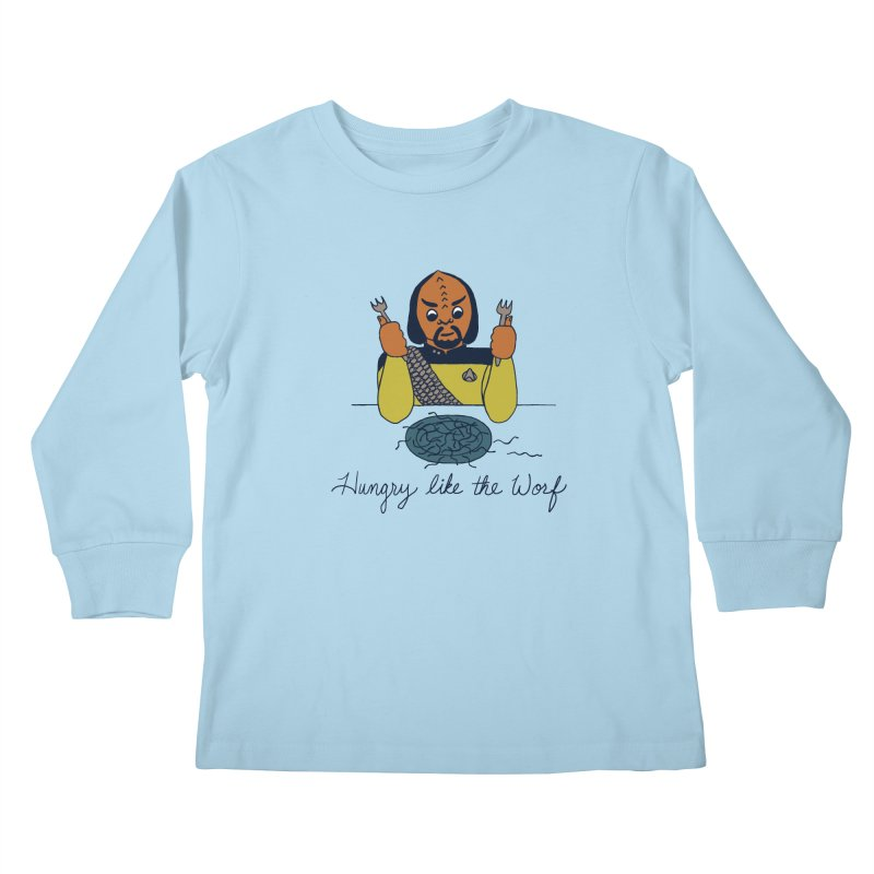 Hungry Like The Worf   by laurastead's Artist Shop