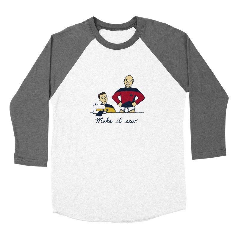 Make It So Women's Longsleeve T-Shirt by laurastead's Artist Shop