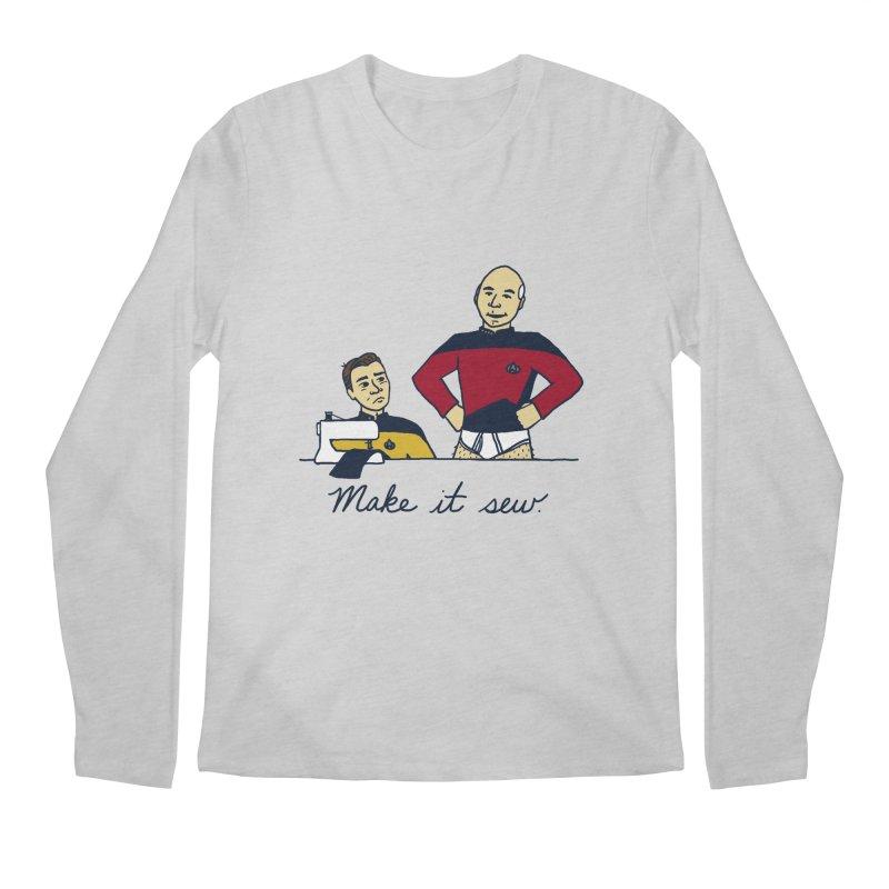 Make It So Men's Longsleeve T-Shirt by laurastead's Artist Shop