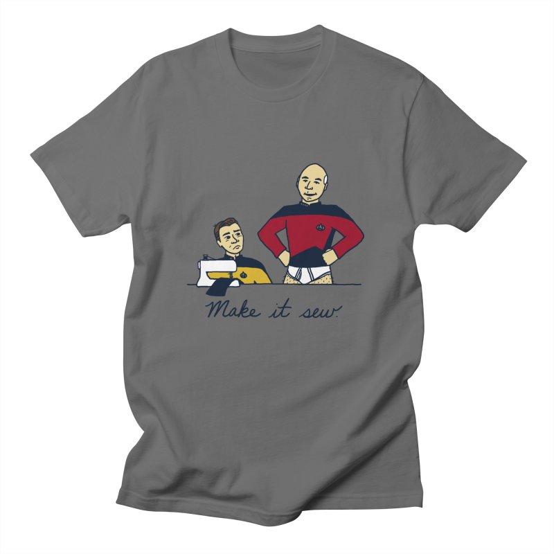 Make It So Women's Regular Unisex T-Shirt by laurastead's Artist Shop