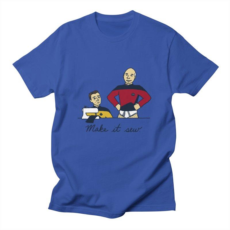 Make It So Women's Unisex T-Shirt by laurastead's Artist Shop