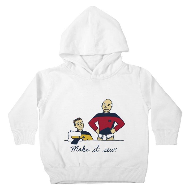 Make It So Kids Toddler Pullover Hoody by laurastead's Artist Shop