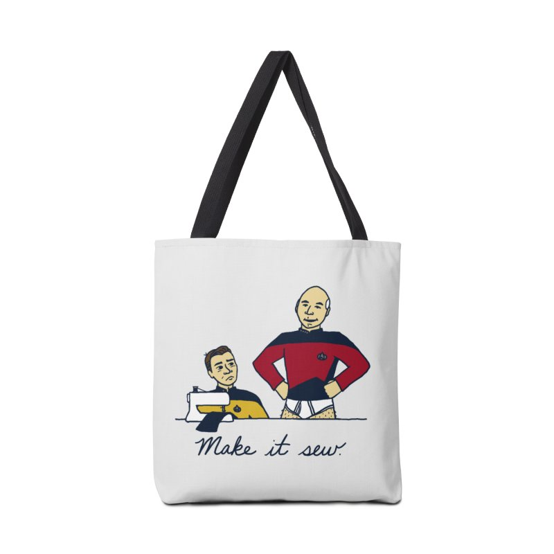 Make It So Accessories Tote Bag Bag by laurastead's Artist Shop