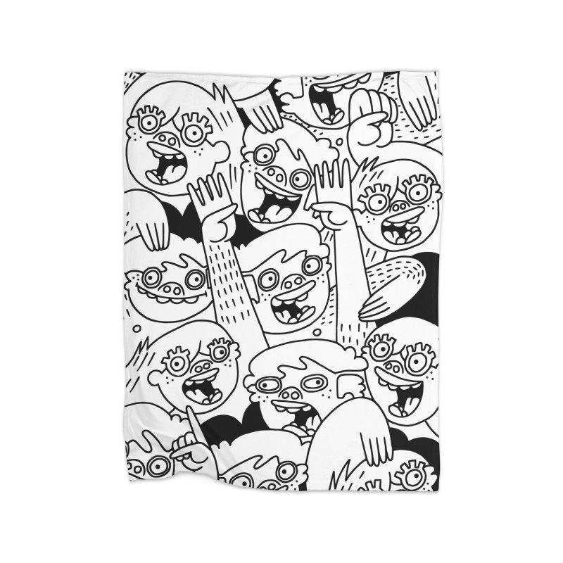Up For Grabs Home Blanket by Lauren Asta