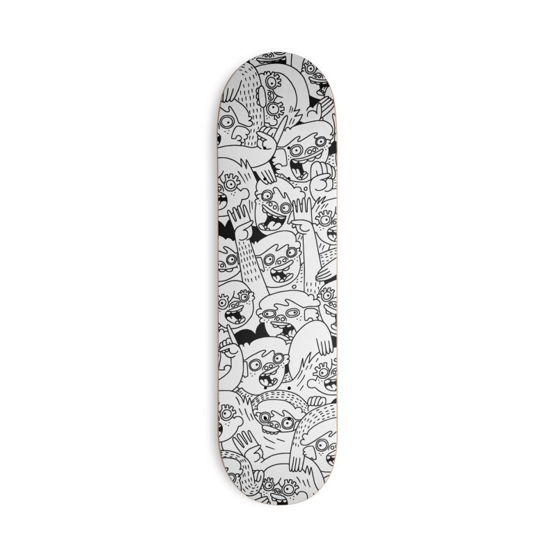 Up For Grabs in Deck Only Skateboard by Lauren Asta