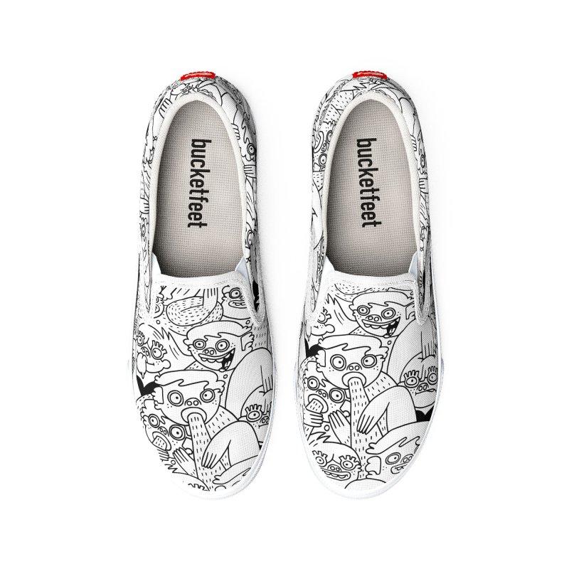 Plug It In Men's Shoes by Lauren Asta