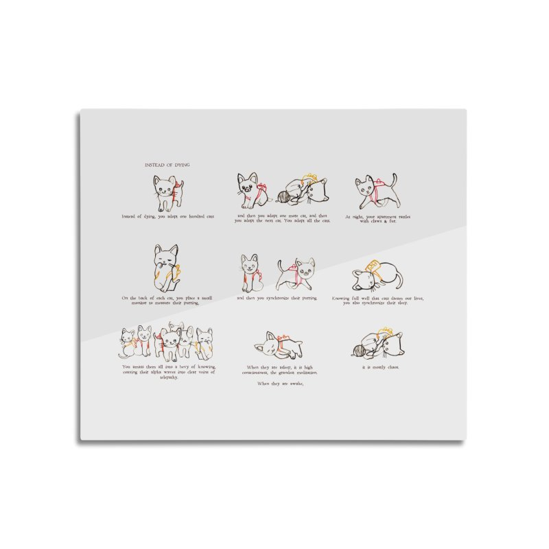 Cats (Full) Home Mounted Acrylic Print by Lauren Things Store