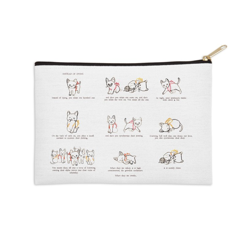Cats (Full) Accessories Zip Pouch by Lauren Things Store