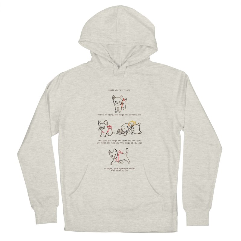 Cats (Adopt) Men's French Terry Pullover Hoody by Lauren Things Store