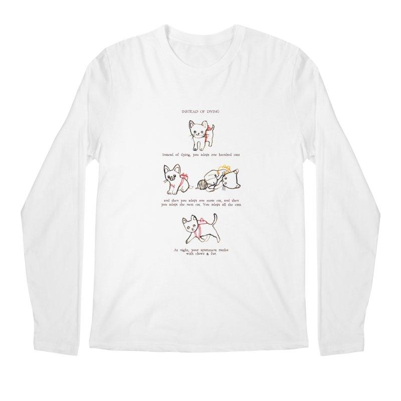 Cats (Adopt) Men's Regular Longsleeve T-Shirt by Lauren Things Store