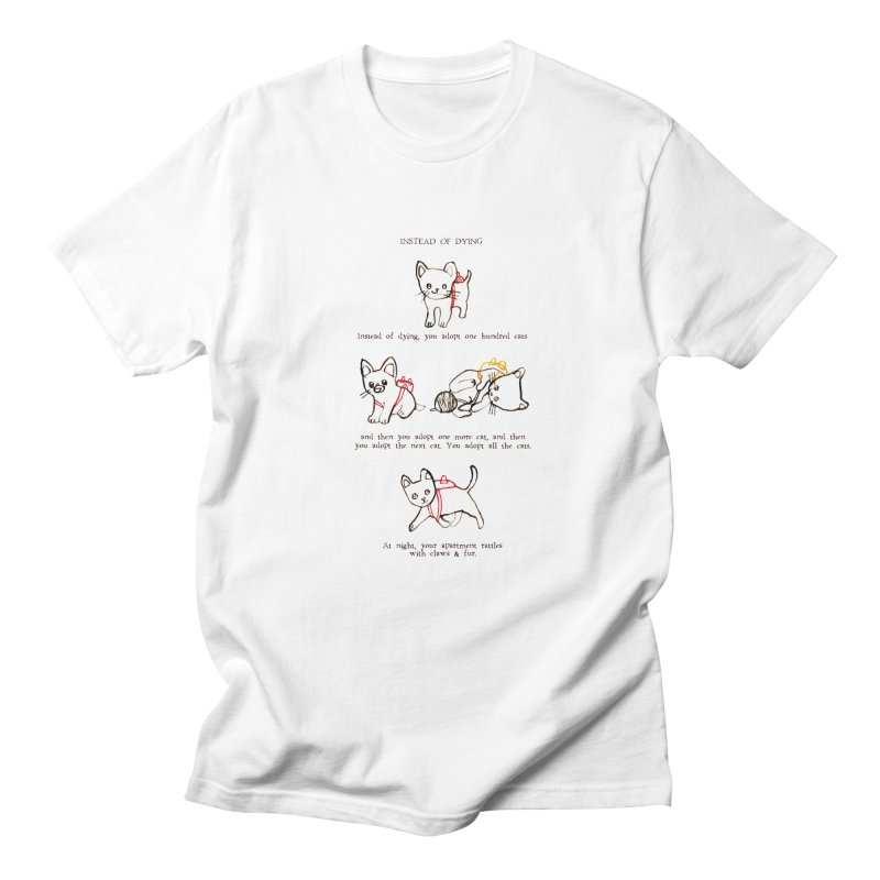 Cats (Adopt) Women's Regular Unisex T-Shirt by Lauren Things Store