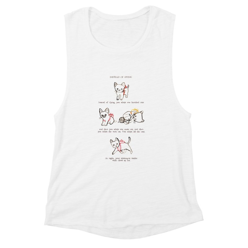 Cats (Adopt) Women's Muscle Tank by Lauren Things Store