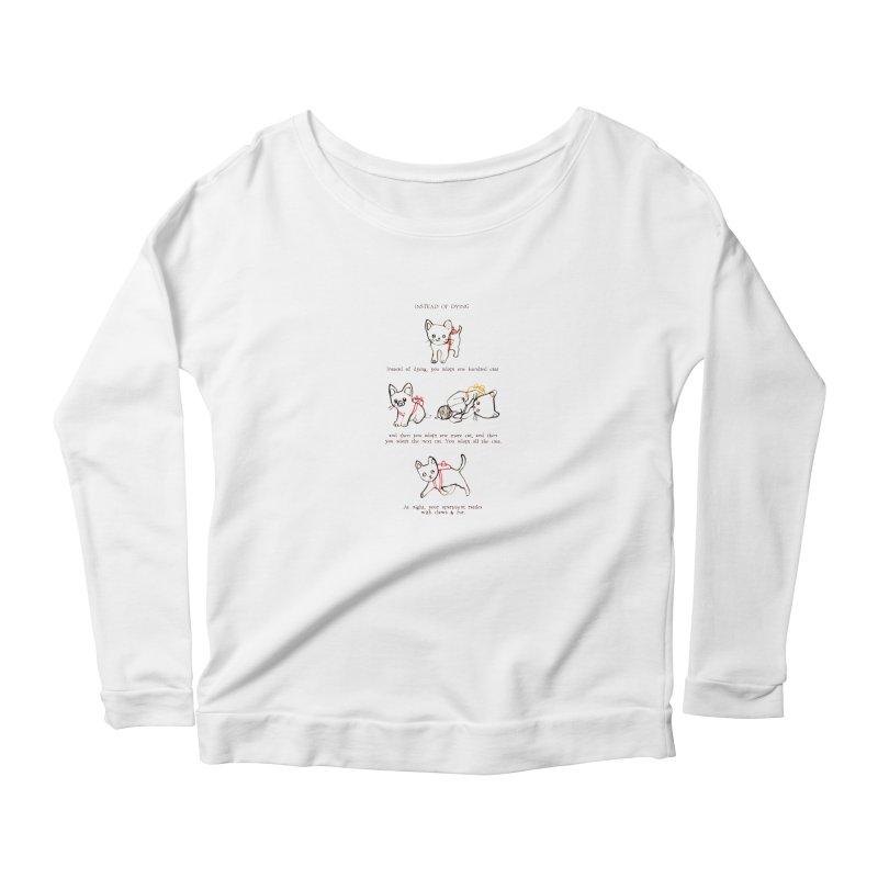 Cats (Adopt) Women's Longsleeve T-Shirt by Lauren Things Store