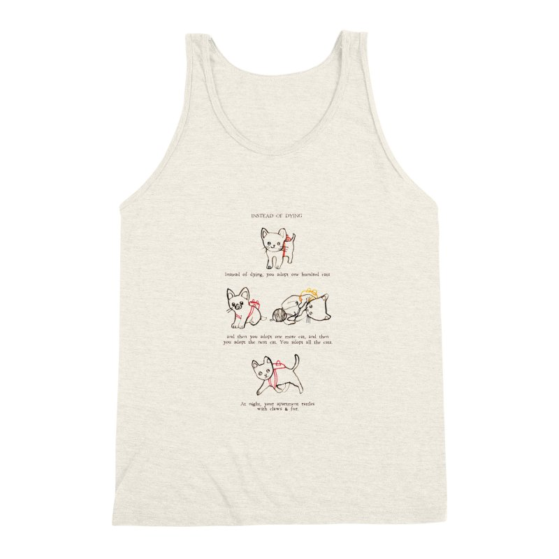 Cats (Adopt) Men's Triblend Tank by Lauren Things Store