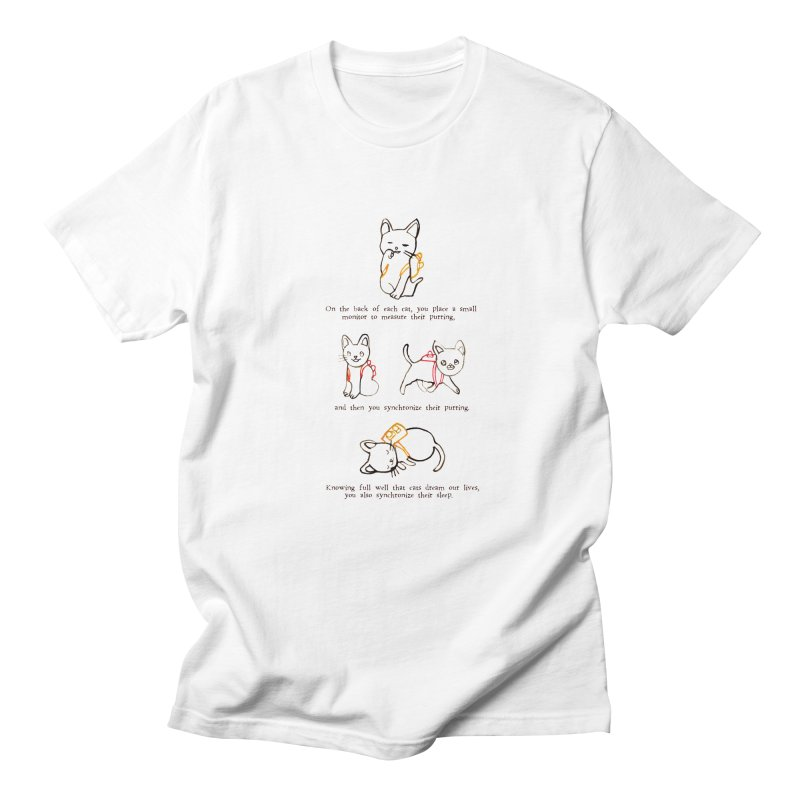 Cats (Purring) Women's Regular Unisex T-Shirt by Lauren Things Store