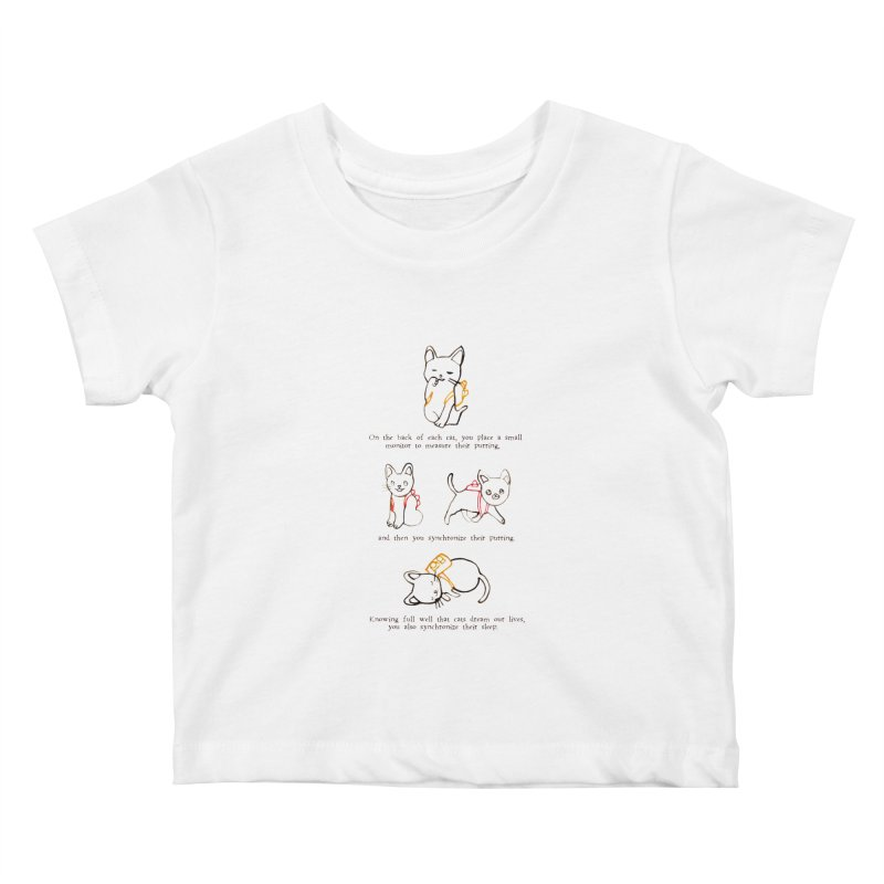 Cats (Purring) Kids Baby T-Shirt by Lauren Things Store