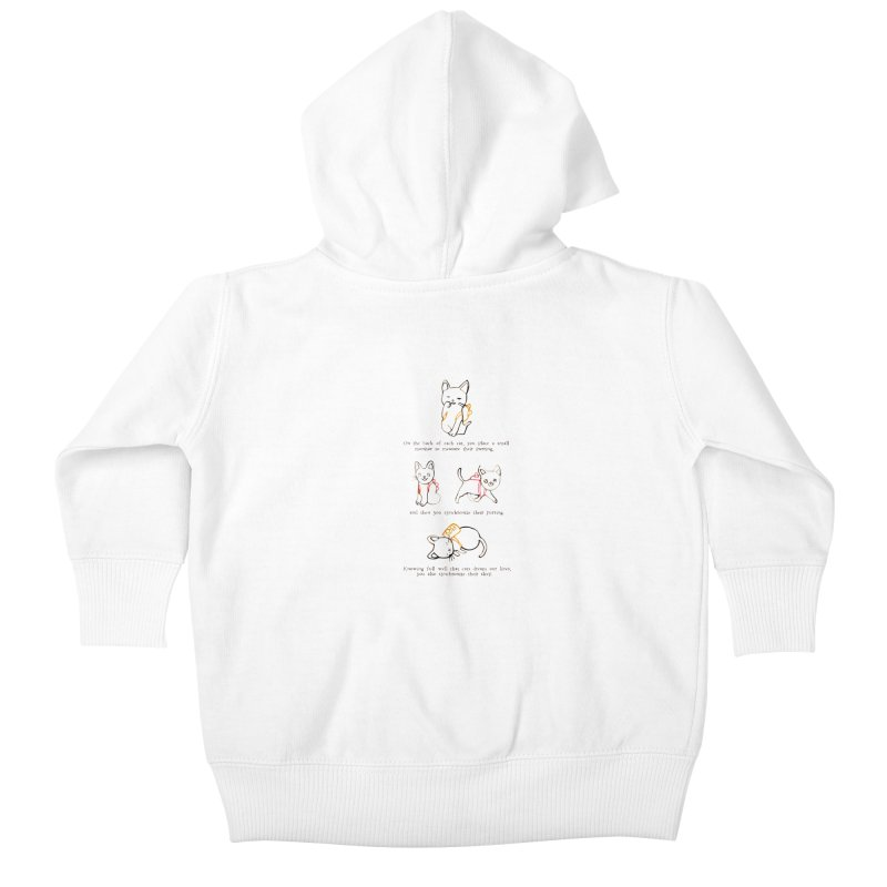 Cats (Purring) Kids Baby Zip-Up Hoody by Lauren Things Store