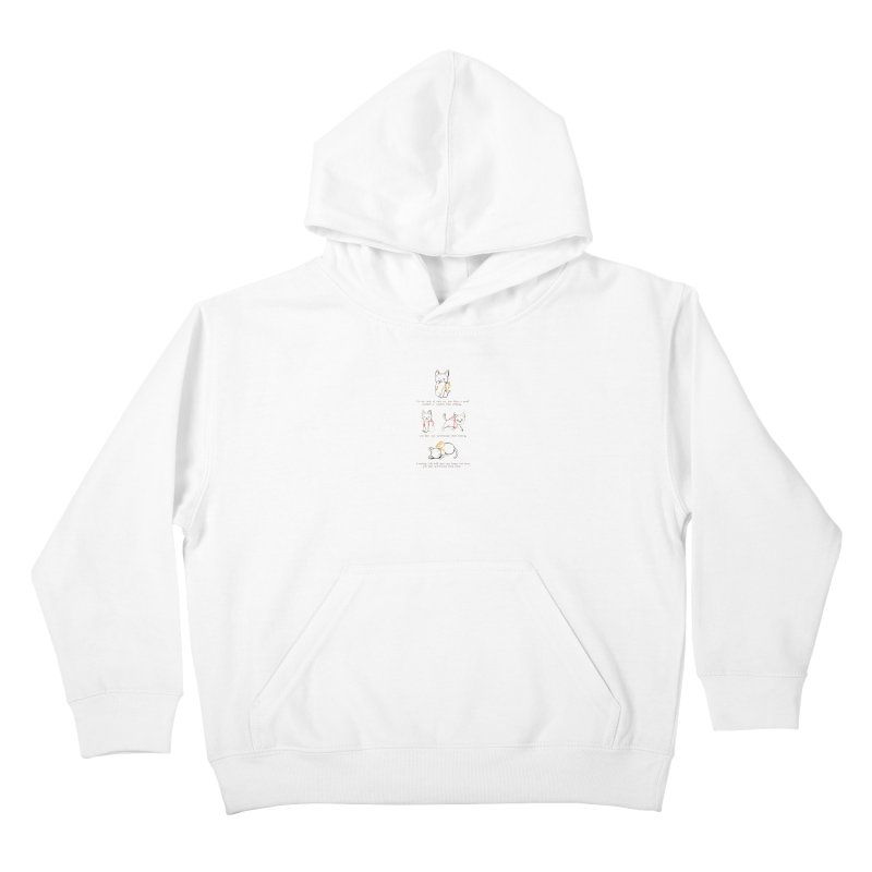 Cats (Purring) Kids Pullover Hoody by Lauren Things Store