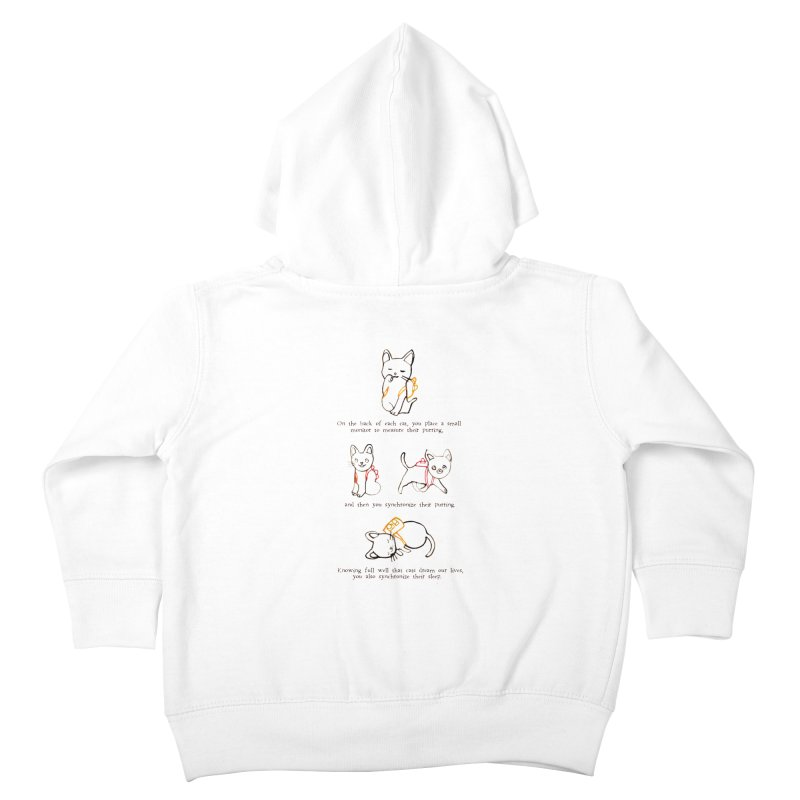 Cats (Purring) Kids Toddler Zip-Up Hoody by Lauren Things Store