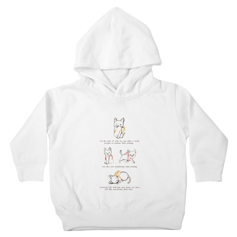 Cats (Purring) Kids Toddler Pullover Hoody by Lauren Things Store