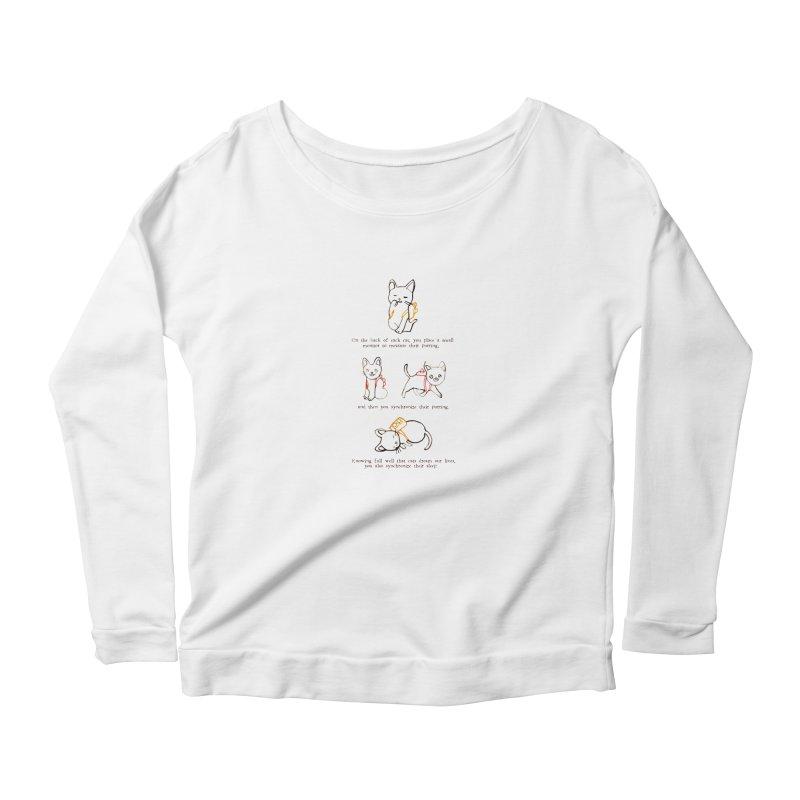 Cats (Purring) Women's Longsleeve T-Shirt by Lauren Things Store