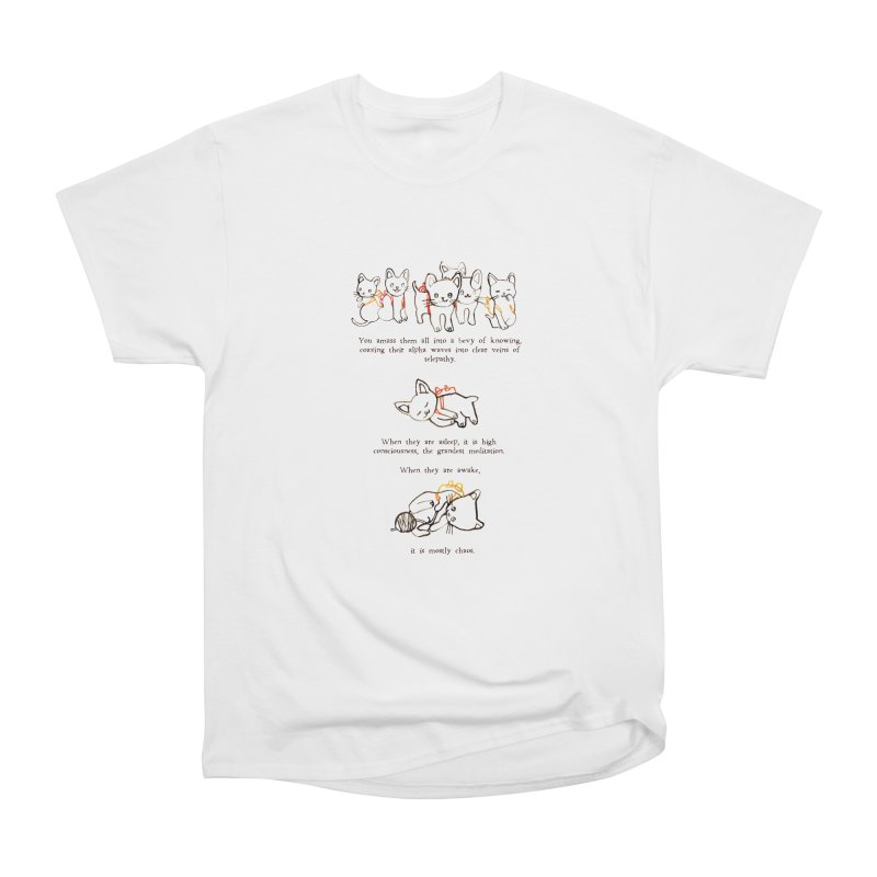 Cats (Chaos) Men's Heavyweight T-Shirt by Lauren Things Store