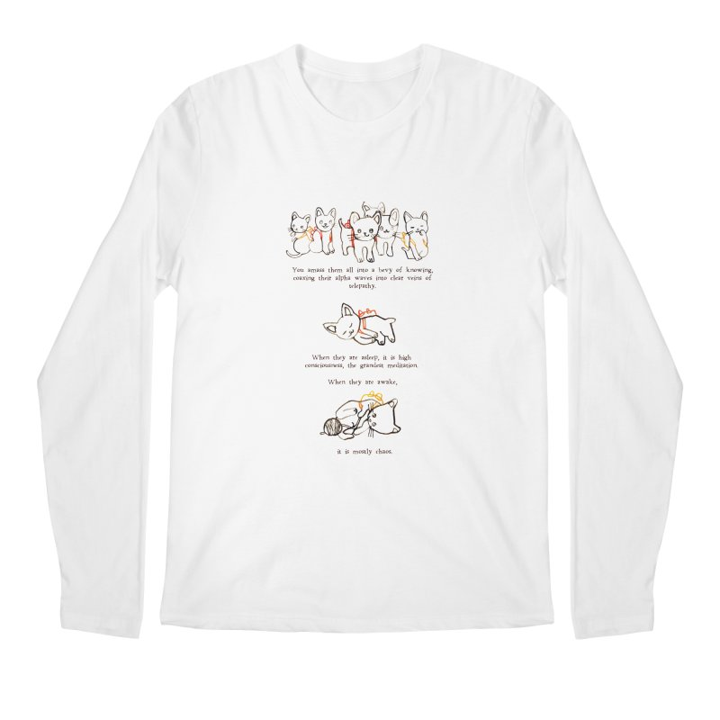 Cats (Chaos) Men's Regular Longsleeve T-Shirt by Lauren Things Store