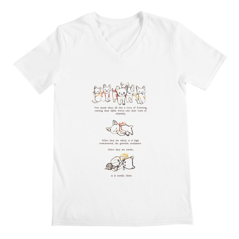 Cats (Chaos) Men's V-Neck by Lauren Things Store