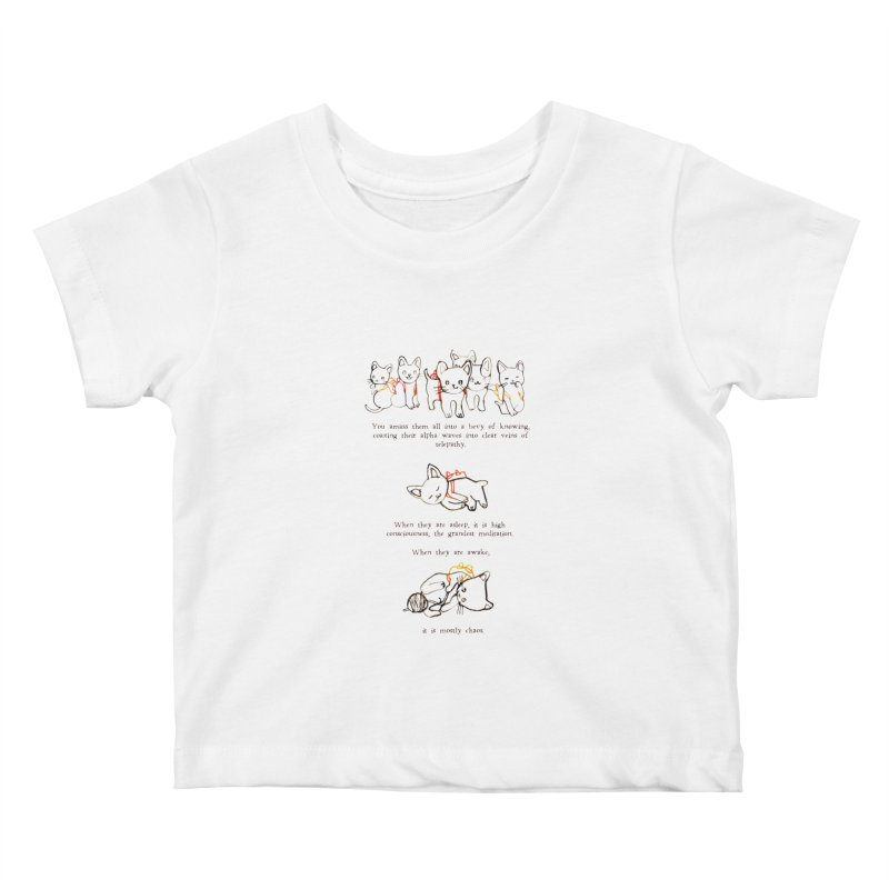 Cats (Chaos) Kids Baby T-Shirt by Lauren Things Store