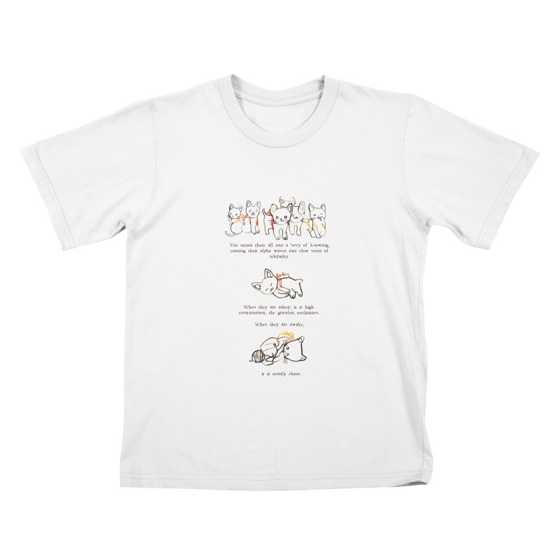 Cats (Chaos) Kids T-Shirt by Lauren Things Store