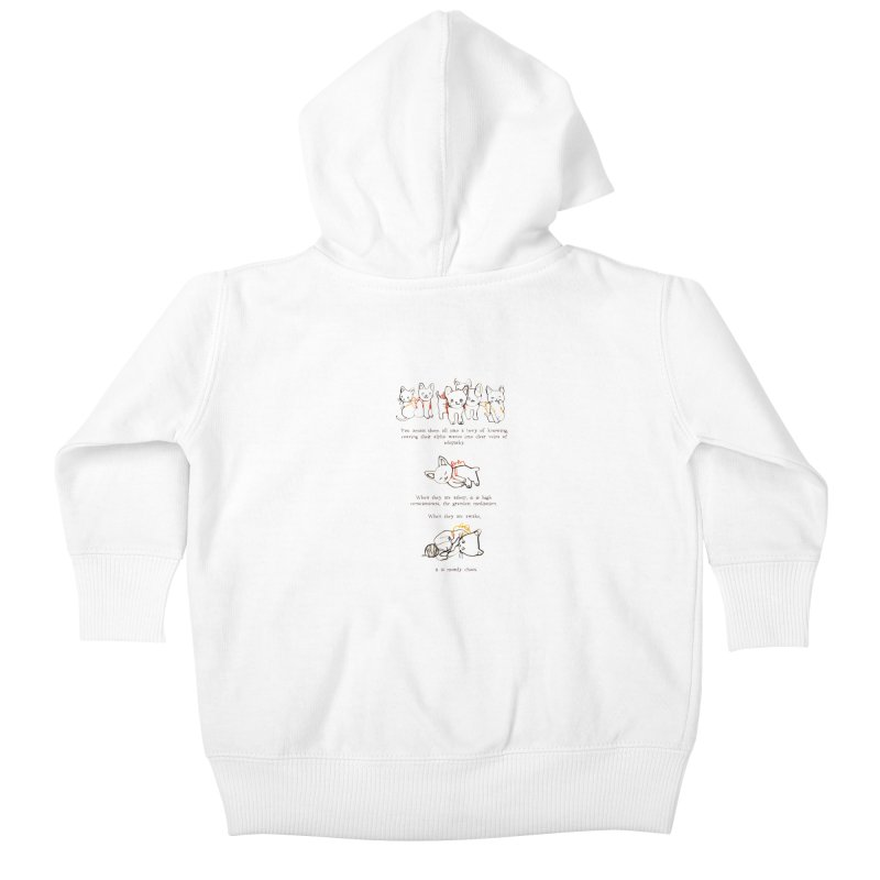 Cats (Chaos) Kids Baby Zip-Up Hoody by Lauren Things Store