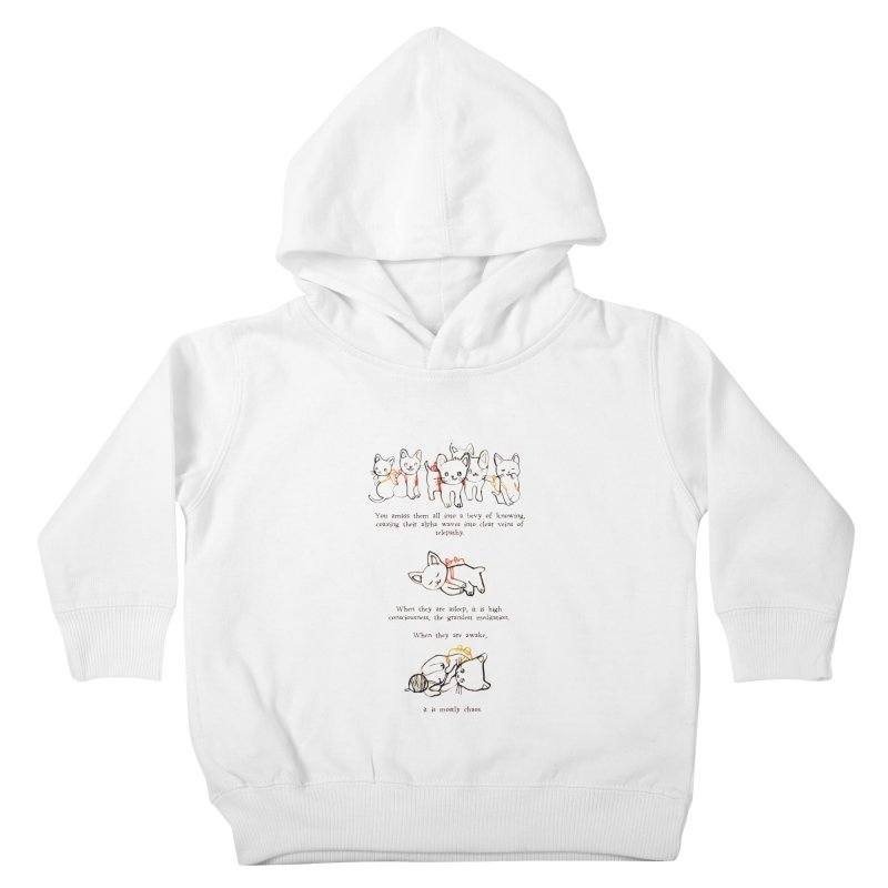 Cats (Chaos) Kids Toddler Pullover Hoody by Lauren Things Store