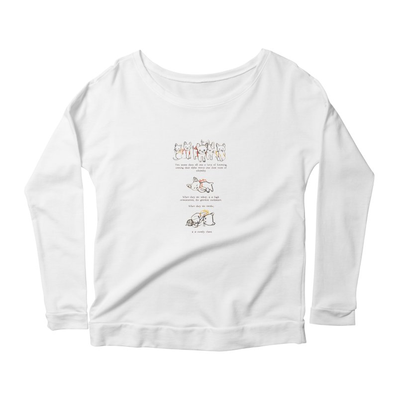 Cats (Chaos) Women's Longsleeve T-Shirt by Lauren Things Store