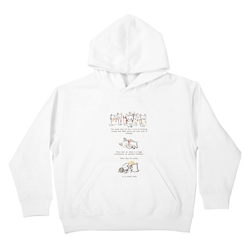 Cats (Chaos) Kids Pullover Hoody by Lauren Things Store