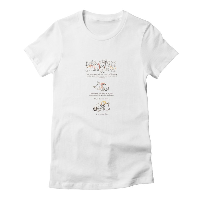 Cats (Chaos) Women's T-Shirt by Lauren Things Store