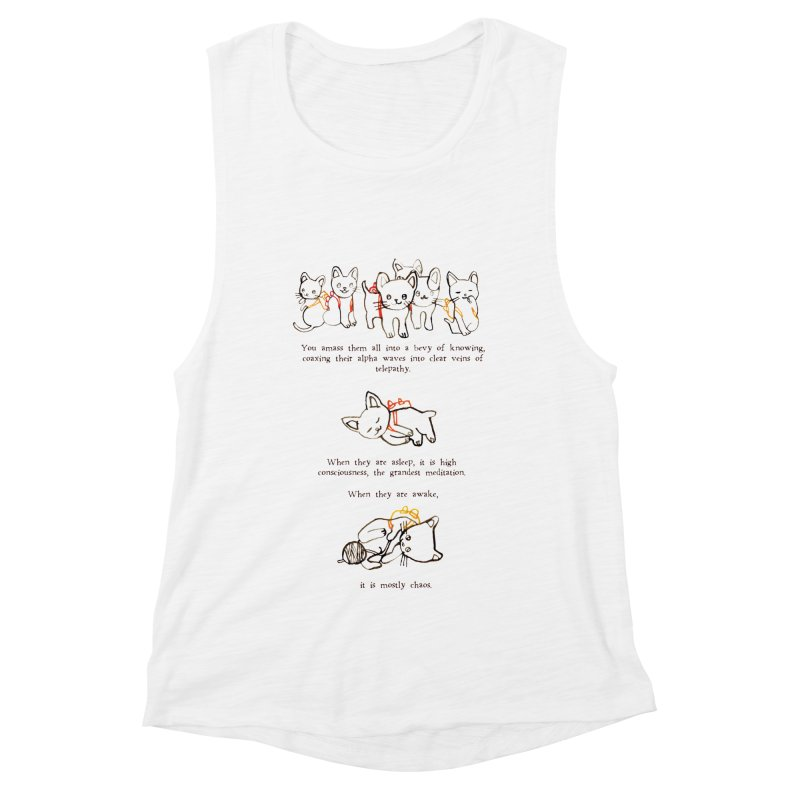 Cats (Chaos) Women's Muscle Tank by Lauren Things Store