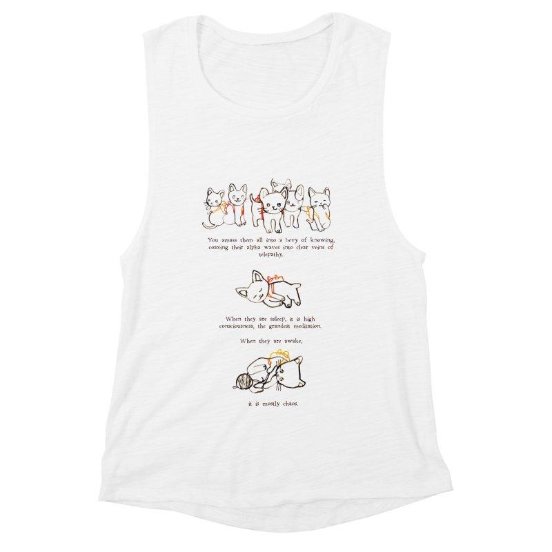 Cats (Chaos) Women's Muscle Tank by Lauren Things Store