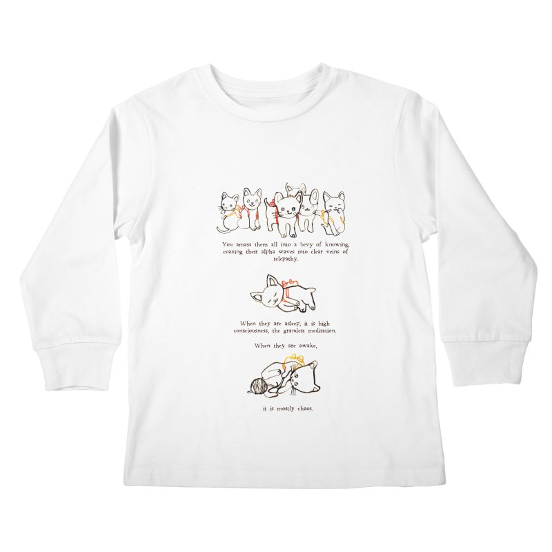 Cats (Chaos) Kids Longsleeve T-Shirt by Lauren Things Store