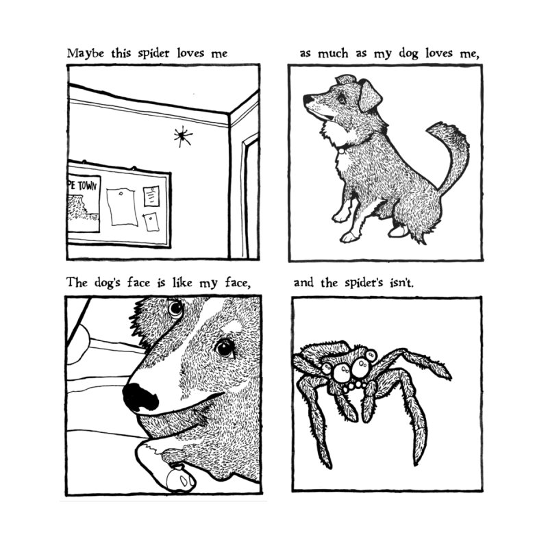 Dog + Spider by Lauren Things Store