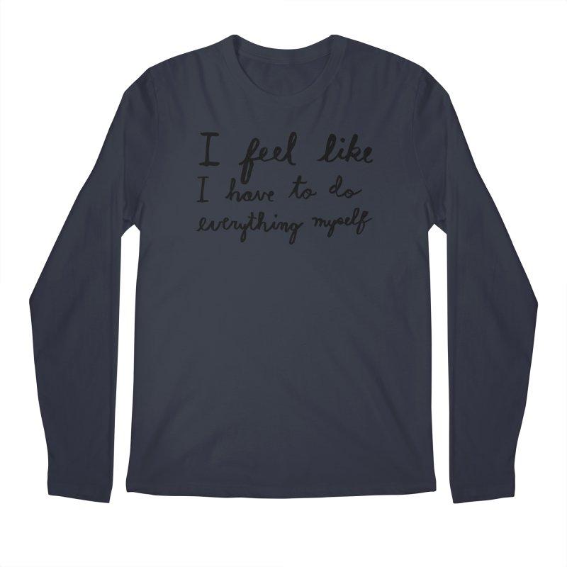 Everything Myself Men's Regular Longsleeve T-Shirt by Lauren Things Store