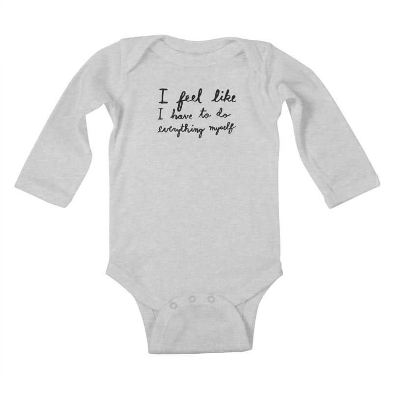 Everything Myself Kids Baby Longsleeve Bodysuit by Lauren Things Store