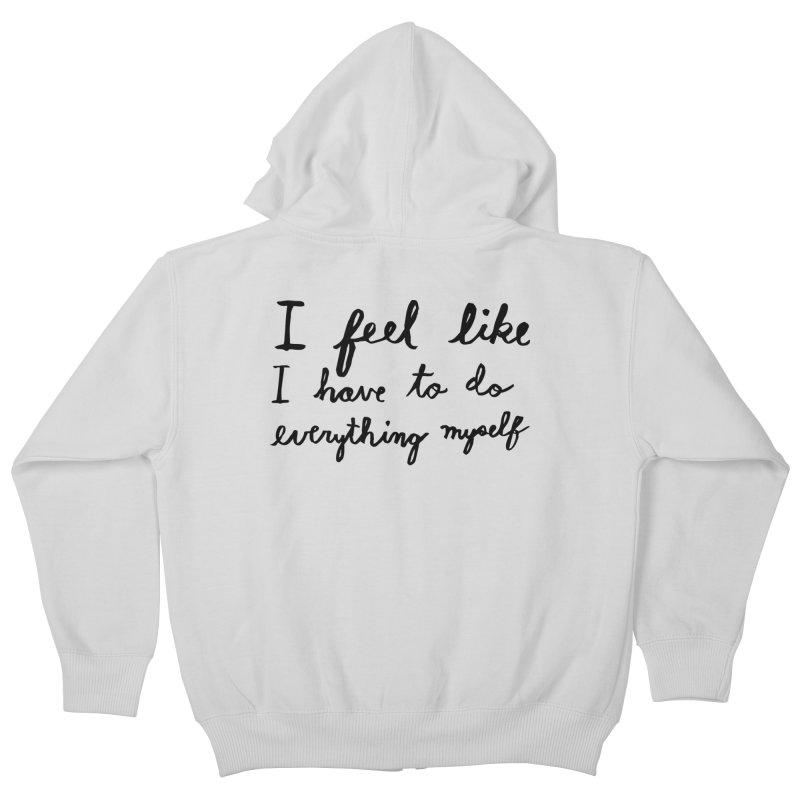 Everything Myself Kids Zip-Up Hoody by Lauren Things Store