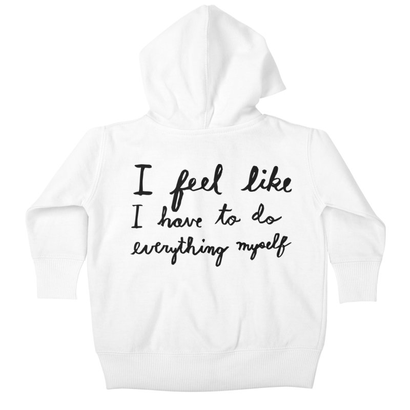 Everything Myself Kids Baby Zip-Up Hoody by Lauren Things Store
