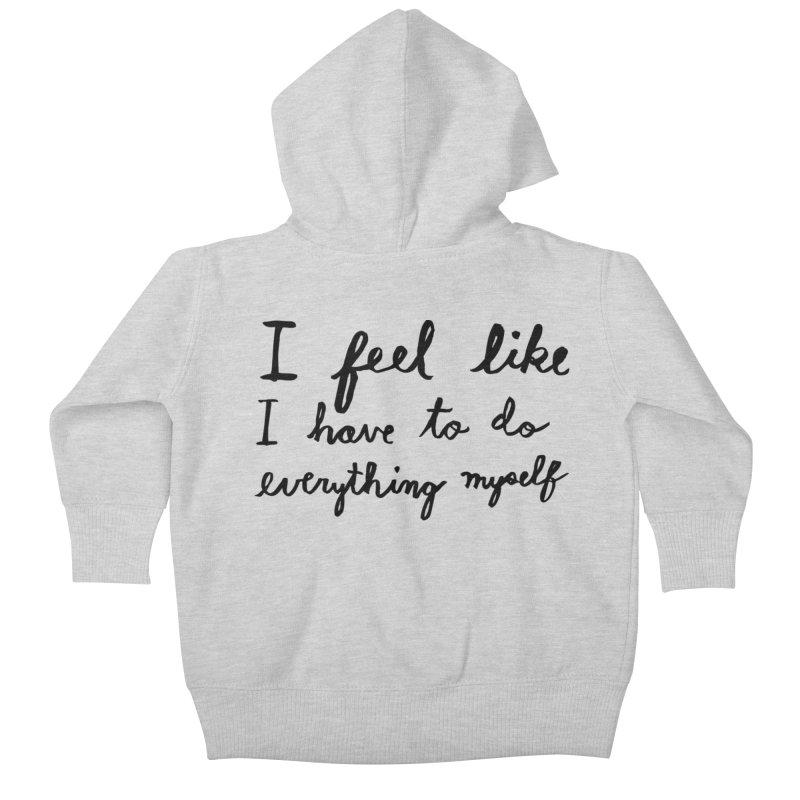 Everything Myself Kids Baby Zip-Up Hoody by Lauren Things Store