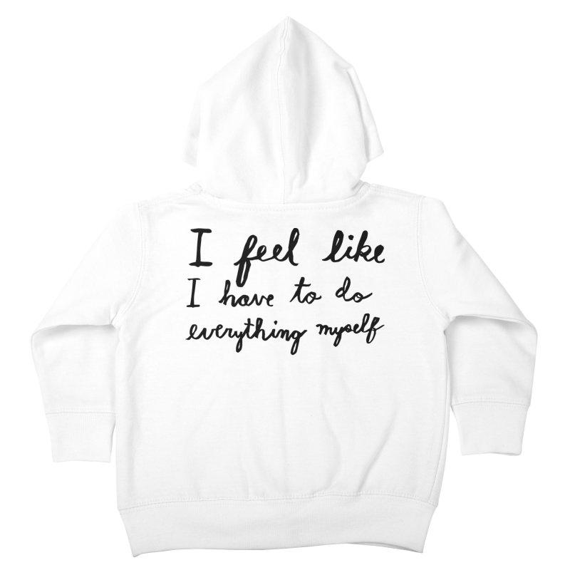 Everything Myself Kids Toddler Zip-Up Hoody by Lauren Things Store