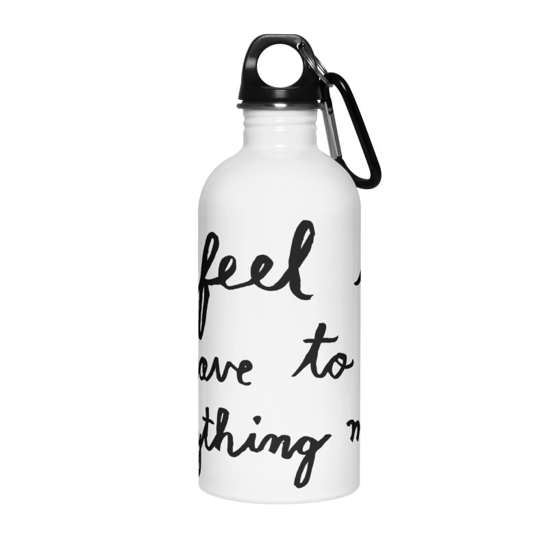 Everything Myself Accessories Water Bottle by Lauren Things Store