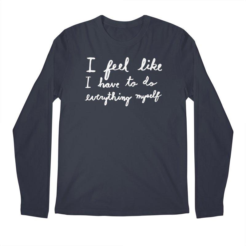 Everything Myself (Light) Men's Regular Longsleeve T-Shirt by Lauren Things Store